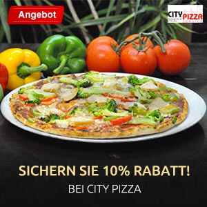 Hallo Essen City Pizza Combo