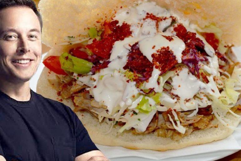 Elon Musk Says His Favorite Food In Germany Is Döner Kebab !!! Order Döner Kebab From Halloessen.de